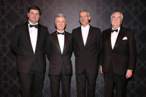 Renaud Filloux de Gironde, Bernard Peillon, Arik Levy et Yann Fillioux © François Goizé