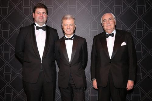 Renaud Filloux de Gironde, Bernard Peillon et Yann Fillioux © François Goizé