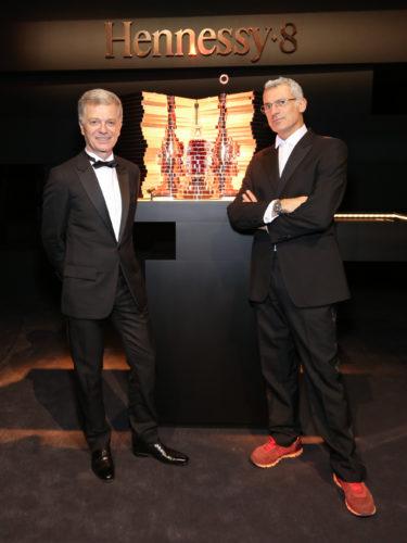 Bernard Peillon et Arik Levy © François Goizé