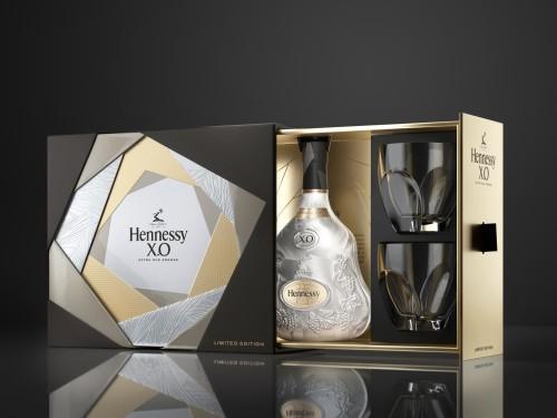 Hennessy X.O & Ice - Coffret édition limitée black 2