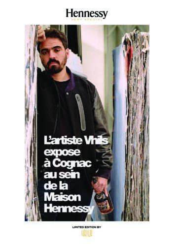 Dossier de Presse Hennessy V.S Edition Limitée par Vhils