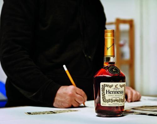 Hennessy V.S Edition Limitée par Vhils ©Jean-Marc Lubrano-Filmography