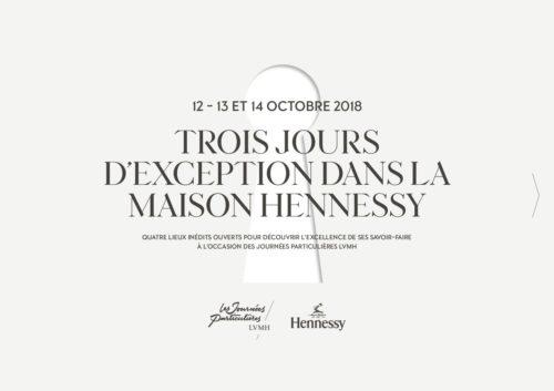Dossier de Presse Journées Particulières LVMH - Maison Hennessy