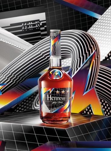 Hennessy V.S Edition limitée Felipe Pantone