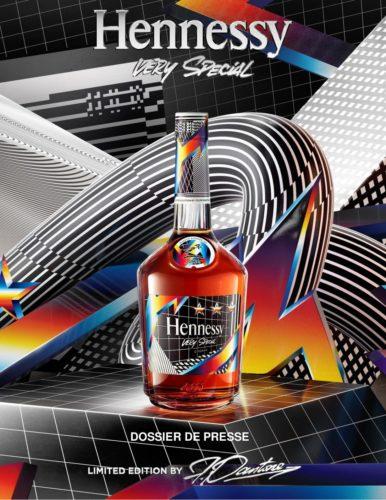 Hennessy Very Special Edition Limitée par Felipe Pantone - Dossier de Presse