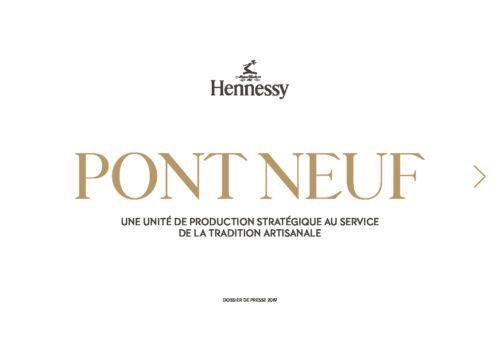 Dossier de Presse Hennessy Pont Neuf