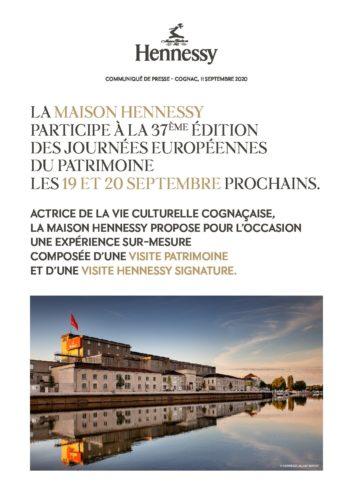 Hennessy - CP Journee Europeenne du Patrimoine 2020-pdf