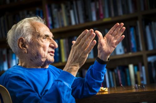Frank Gehry portrait profil