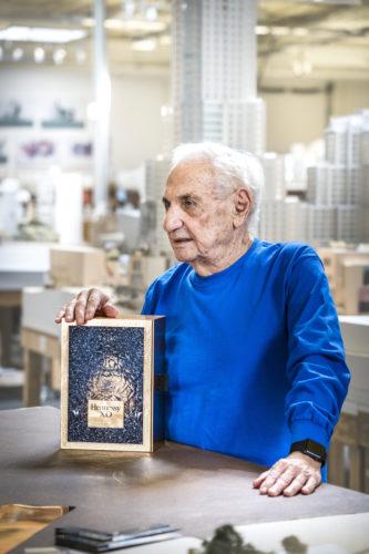 Frank Gehry et Coffret Edition Limitee