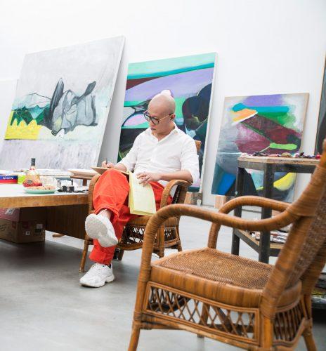 L'ARTISTE CHINOIS LIU WEI SIGNE UNE ÉDITION LIMITÉE POUR HENNESSY X.O EN CE DÉBUT D'ANNÉE<br />