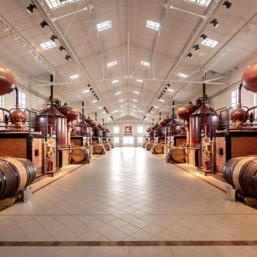 Distillerie du Peu Hennessy ©Alain Benoit